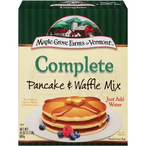 Maple Grove Farms Complete Pancake & Waffle Mix, 681g