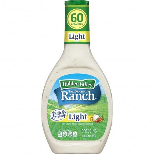 Hidden Valley Ranch Dressing Light, 473ml
