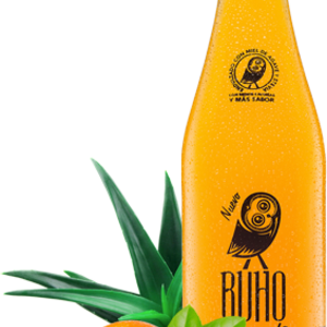 Buho Soda Naranja Mandarina, 355ml