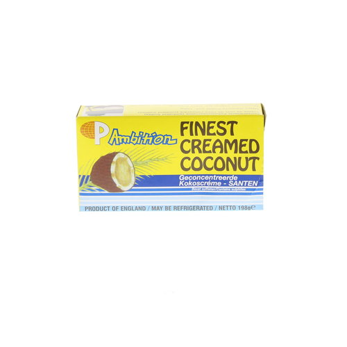 Finest Creamed Coconut, 198g