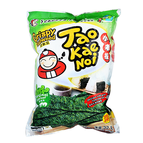 Tao Kae Noi Seaweed Snack Original, 32g