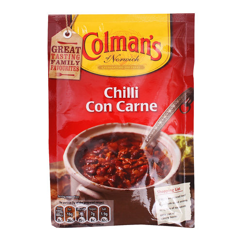 Colman's Chilli Con Carne Seasoning Mix, 50g