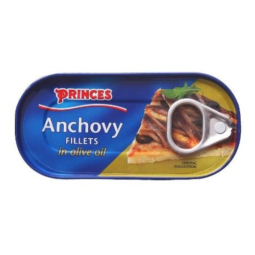 Princes Anchovy Filets, 50g
