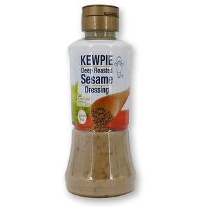 Kewpie Deep Roasted Sesame Dressing, 210ml