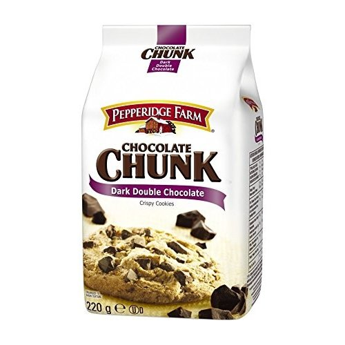 Pepperidge Farm Dark Double Chocolate, 220g