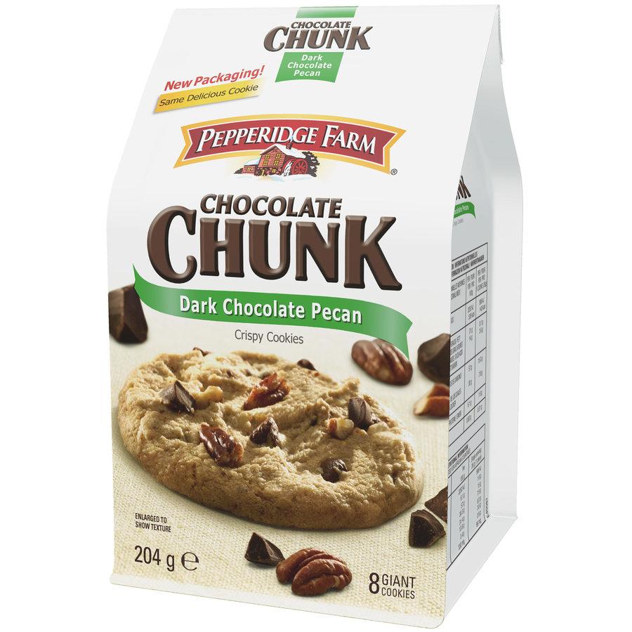 Pepperidge Farm Dark Chocolate Pecan Cookies, 204g