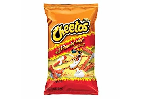 Frito Lay Cheetos Flamin Hot, 226g