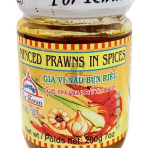 Por Kwan Minced Prawns in Spices, 200g