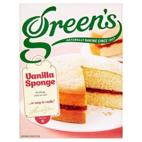 Greens Vanilla Sponge Cake Mix, 221g