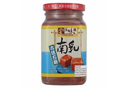 Yummy House Wet Red Bean Curd, 280g