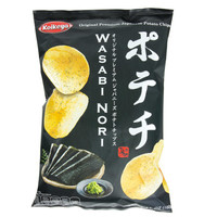 Wasabi Nori Potato Chips, 100g