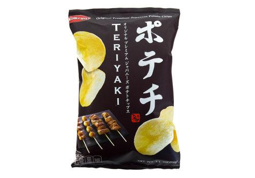 Koikeya Teriyaki Potato Chips, 100g