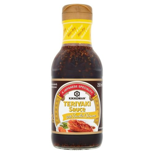 Kikkoman Teriyaki Sauce with Toasted Sesame, 250ml