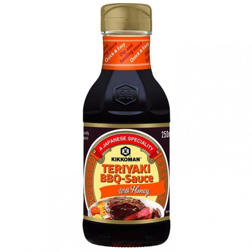 Kikkoman Teriyaki BBQ Honey Sauce, 250ml