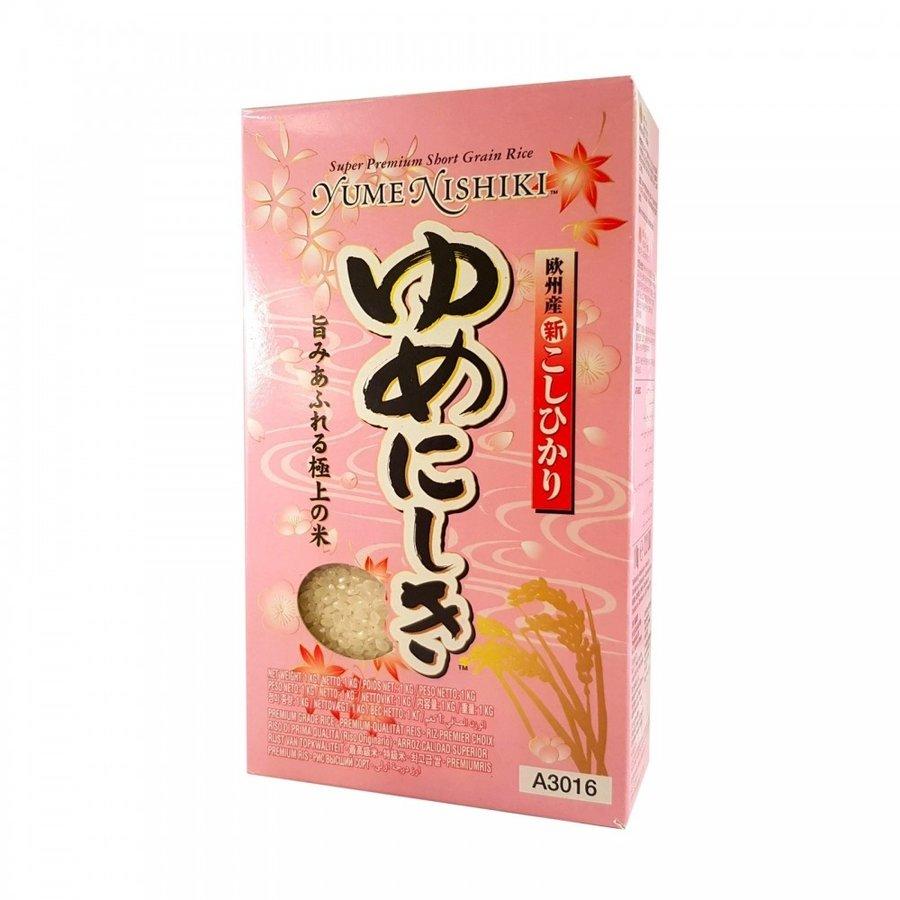 Yume Nishiki Rice, 1kg