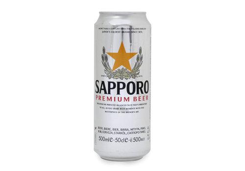 Sapporo Premium Beer, 500ml