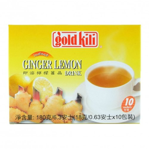 Goldkili Honey Ginger Lemon Drink, 10x18g