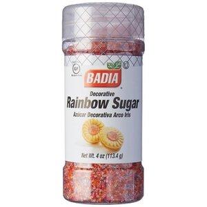 Badia Rainbow Sugar, 113g