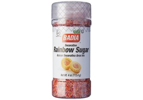 Badia Rainbow Sugar, 113g