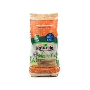 Naturelo Genixtamaliseerde Blauwe Maismeel, 1kg THT 6-6-21