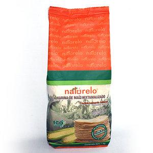 Naturelo Genixtamaliseerde Witte Maismeel, 1kg
