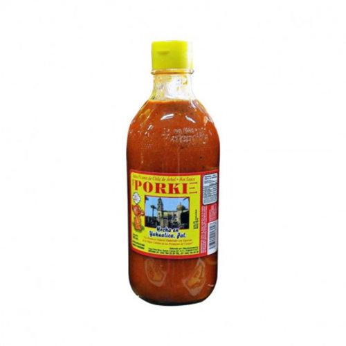Salsa Porki Chile de Arbol, 370ml