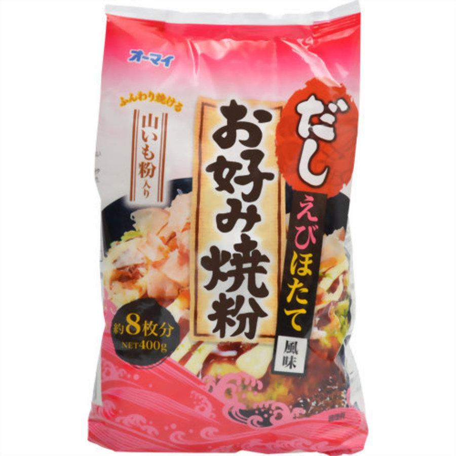 Dashi Okonomiyakiko Ebi Hotate, 400g