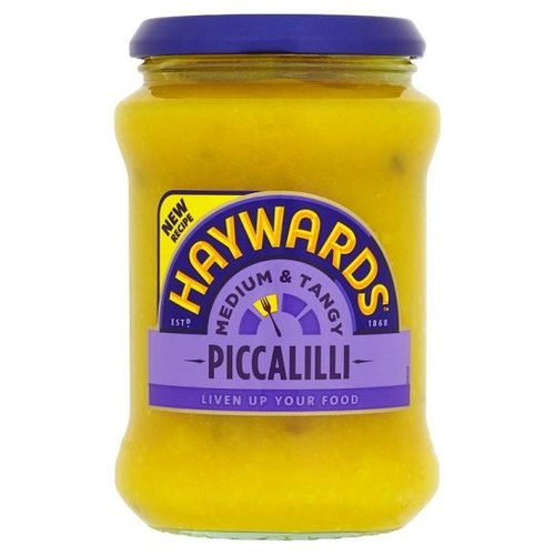 Haywards Medium and Tangy Piccalilli, 400g