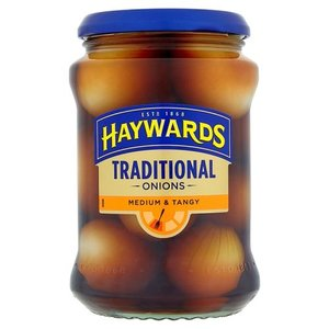 Haywards Medium and Tangy Pickled Onions, 400g