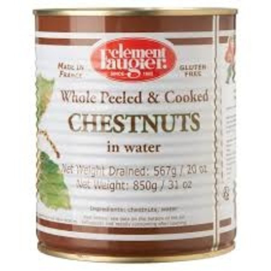 Whole Peeled Cooked Chestnuts, 567g