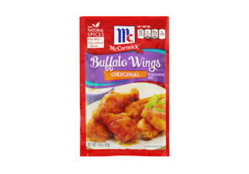 McCormick Buffalo Wings Seasoning Mix, 45g