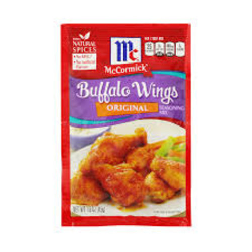 McCormick Buffalo Wings Seasoning Mix, 45g
