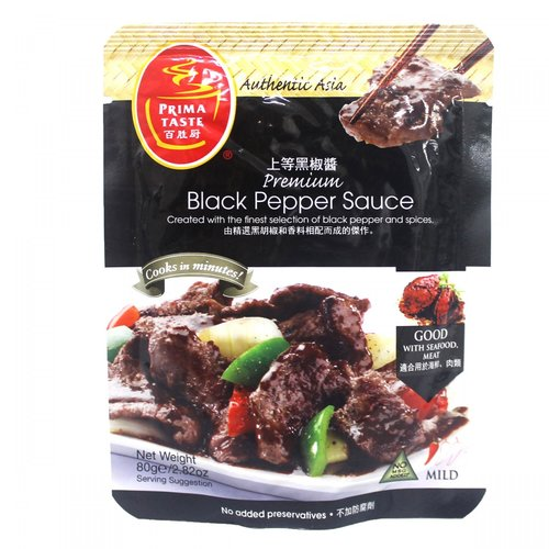 Prima Taste Black Pepper Sauce, 80g