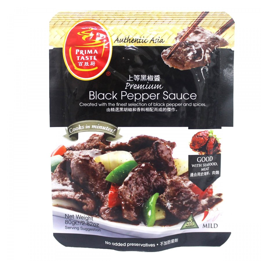 Black Pepper Sauce, 80g