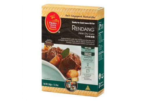 Prima Taste Rendang Meal Sauce Kit, 360g
