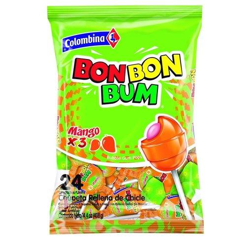 Colombina Bon Bon Bum Mango, 408g