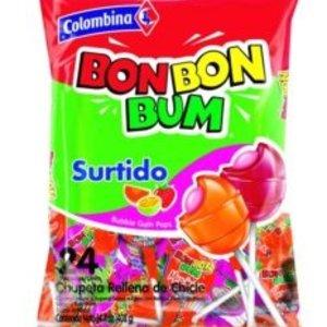 Colombina Bon Bon Bum Assorted Mix, 408g