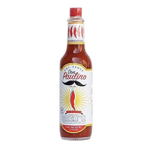 Don Paulino Tradicional Hot Sauce, 150ml