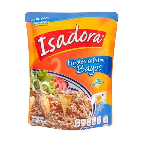 Isadora Isadora Refried Pinto Beans, 430g