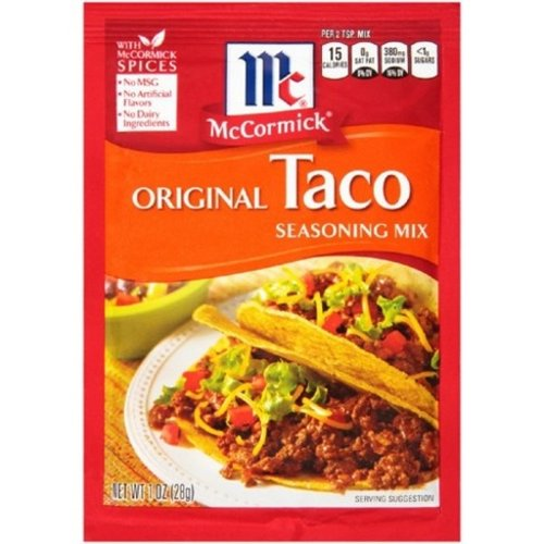 McCormick Taco Seasoning Mix, 28g