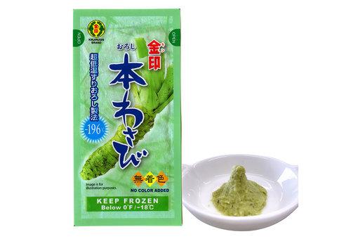Kinjirushi Brand Verse Wasabi Pasta, 200g