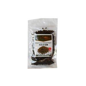 TYM Green Sichuan Peppercorns, 50g