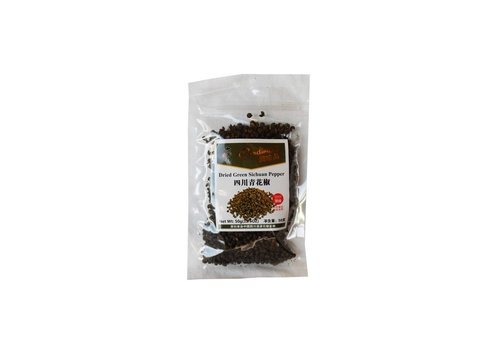TYM Sichuan Peppercorns (green), 50g
