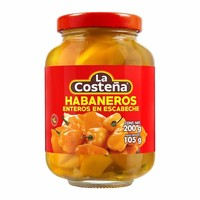 Whole Habanero Peppers, 200g