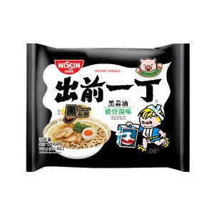 Nissin Black Garlic Tonkatsu Ramen, 100g