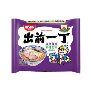 Nissin Nissin Tokyo Shoyu Tonkotsu Flavour, 100g