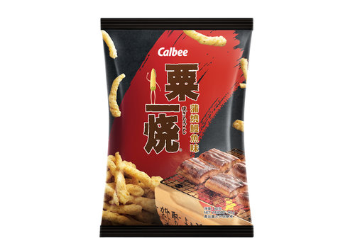 Calbee Grill-A-Corn Eel Kabayaki Corn Snack, 80g
