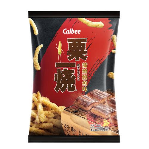 Calbee Eel Kabayaki Corn Snack, 80g