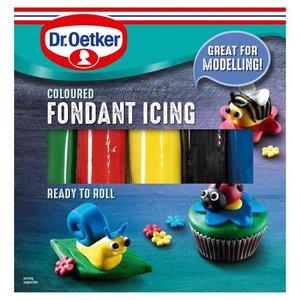 Dr. Oetker Coloured Fondant Icing, 500g