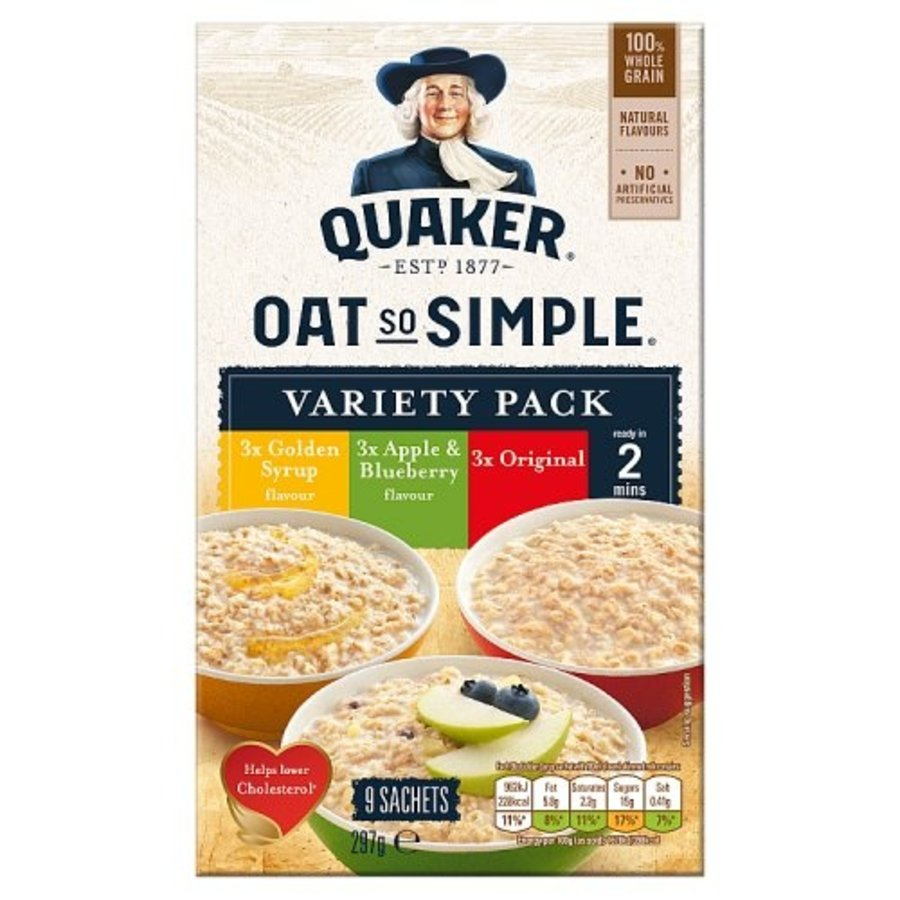 Oat So Simple Variety Pack, 297g